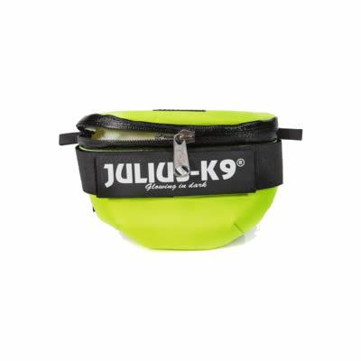 Mini to 4 Julius-K9 IDC Universal Bolsas Laterales Tama/ño Ne/ón